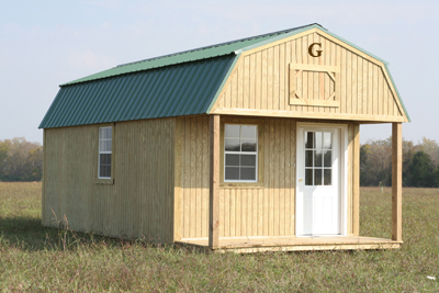 Graceland Portable Storage Buildings - Lofted Barn Cabin